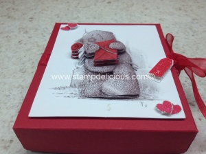 hand made Tatty Teddy box