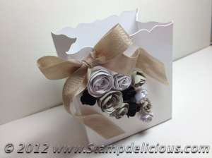 Fancy Favour Bigz XL wedding favour box